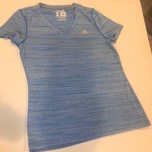 Adidas V neck T Shirt - Size Small
